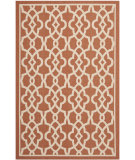 RugStudio presents Safavieh Courtyard Cy6071-241 Terracotta / Beige Machine Woven, Good Quality Area Rug