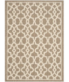 RugStudio presents Safavieh Courtyard Cy6071-242 Mocha / Beige Machine Woven, Good Quality Area Rug