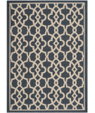 RugStudio presents Safavieh Courtyard Cy6071-268 Navy / Beige Machine Woven, Good Quality Area Rug