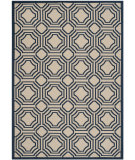 RugStudio presents Safavieh Courtyard Cy6112-258 Beige / Navy Machine Woven, Good Quality Area Rug