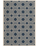 RugStudio presents Safavieh Courtyard Cy6112-268 Navy / Beige Machine Woven, Good Quality Area Rug