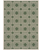 RugStudio presents Safavieh Courtyard Cy6112-332 Dark Green / Beige Flat-Woven Area Rug