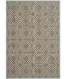 RugStudio presents Safavieh Courtyard Cy6112-337 Brown / Aqua Machine Woven, Good Quality Area Rug