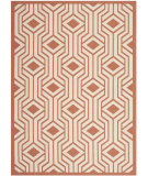 RugStudio presents Safavieh Courtyard Cy6113-231 Beige / Terracotta Machine Woven, Good Quality Area Rug
