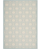 RugStudio presents Safavieh Courtyard Cy6114-213 Beige / Aqua Machine Woven, Good Quality Area Rug