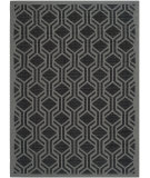 RugStudio presents Safavieh Courtyard Cy6114-225 Black / Anthracite Machine Woven, Good Quality Area Rug