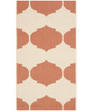 RugStudio presents Safavieh Courtyard Cy6162-231 Beige / Terracotta Machine Woven, Good Quality Area Rug