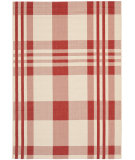 RugStudio presents Safavieh Courtyard Cy6201-238 Red / Bone Machine Woven, Good Quality Area Rug
