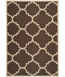 RugStudio presents Safavieh Courtyard Cy6243-204 Dark Brown Machine Woven, Good Quality Area Rug