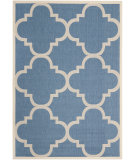 RugStudio presents Safavieh Courtyard Cy6243-243 Blue / Beige Machine Woven, Good Quality Area Rug