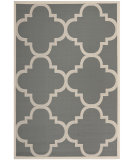 RugStudio presents Safavieh Courtyard Cy6243-246 Grey / Beige Machine Woven, Good Quality Area Rug