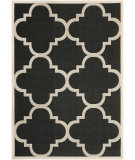 RugStudio presents Safavieh Courtyard Cy6243-266 Black / Beige Machine Woven, Good Quality Area Rug