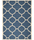 RugStudio presents Safavieh Courtyard Cy6243-268 Navy / Beige Machine Woven, Good Quality Area Rug