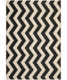 RugStudio presents Safavieh Courtyard Cy6245-256 Black / Beige Machine Woven, Good Quality Area Rug