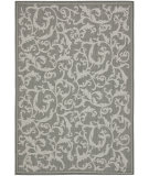 RugStudio presents Safavieh Courtyard Cy6533-87 Anthracite / Light Grey Machine Woven, Good Quality Area Rug