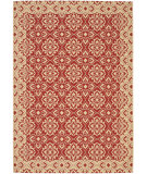 RugStudio presents Safavieh Courtyard Cy6550-28 Red / Creme Machine Woven, Good Quality Area Rug