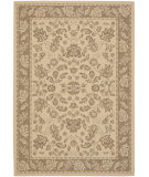RugStudio presents Safavieh Courtyard Cy6555-22 Brown / Creme Machine Woven, Good Quality Area Rug