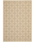 RugStudio presents Safavieh Courtyard Cy6564-12 Creme / Brown Machine Woven, Good Quality Area Rug