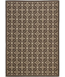 RugStudio presents Safavieh Courtyard Cy6564-204 Chocolate / Cream Machine Woven, Good Quality Area Rug