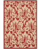 RugStudio presents Safavieh Courtyard Cy6565-28 Red / Creme Machine Woven, Good Quality Area Rug