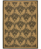 RugStudio presents Safavieh Courtyard Cy6582-46 Black / Natural Machine Woven, Good Quality Area Rug
