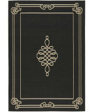 RugStudio presents Safavieh Courtyard Cy6788-26 Black / Creme Machine Woven, Good Quality Area Rug