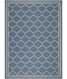 RugStudio presents Safavieh Courtyard CY6889-243 Blue / Beige Flat-Woven Area Rug