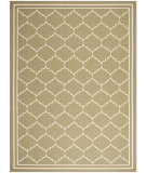 RugStudio presents Safavieh Courtyard CY6889-244 Green / Beige Flat-Woven Area Rug