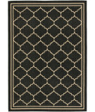 RugStudio presents Safavieh Courtyard Cy6889-26 Black / Creme Machine Woven, Good Quality Area Rug