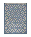 RugStudio presents Safavieh Courtyard CY6902-243 Blue / Beige Area Rug