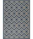 RugStudio presents Safavieh Courtyard CY6902-268 Navy / Beige Flat-Woven Area Rug