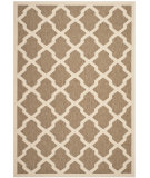 RugStudio presents Safavieh Courtyard Cy6903-242 Brown / Bone Machine Woven, Good Quality Area Rug
