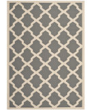 RugStudio presents Safavieh Courtyard Cy6903-246 Anthracite / Beige Machine Woven, Good Quality Area Rug