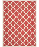 RugStudio presents Safavieh Courtyard CY6903-248 Red / Bone Flat-Woven Area Rug