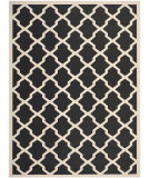 RugStudio presents Safavieh Courtyard Cy6903-266 Black / Beige Machine Woven, Good Quality Area Rug