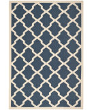 RugStudio presents Safavieh Courtyard Cy6903-268 Navy / Beige Machine Woven, Good Quality Area Rug
