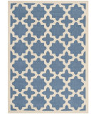 RugStudio presents Safavieh Courtyard CY6913-243 Blue / Beige Flat-Woven Area Rug