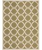 RugStudio presents Safavieh Courtyard Cy6913-244 Green / Beige Machine Woven, Good Quality Area Rug
