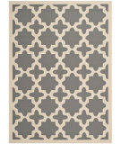 RugStudio presents Safavieh Courtyard Cy6913-246 Anthracite / Beige Machine Woven, Good Quality Area Rug
