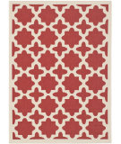 RugStudio presents Safavieh Courtyard CY6913-248 Red / Bone Area Rug