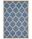 RugStudio presents Safavieh Courtyard CY6914-243 Blue / Beige Flat-Woven Area Rug