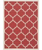 RugStudio presents Safavieh Courtyard CY6914-248 Red / Bone Area Rug
