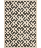 RugStudio presents Safavieh Courtyard Cy6915-216 Black / Beige Machine Woven, Good Quality Area Rug