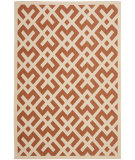 RugStudio presents Safavieh Courtyard Cy6915-231 Terracotta / Bone Machine Woven, Good Quality Area Rug