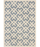 RugStudio presents Safavieh Courtyard Cy6915-233 Blue / Bone Machine Woven, Good Quality Area Rug