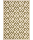 RugStudio presents Safavieh Courtyard Cy6915-234 Green / Bone Machine Woven, Good Quality Area Rug