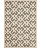 RugStudio presents Safavieh Courtyard Cy6915-236 Grey / Bone Machine Woven, Good Quality Area Rug