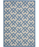RugStudio presents Safavieh Courtyard Cy6915-243 Beige / Blue Machine Woven, Good Quality Area Rug