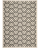 RugStudio presents Safavieh Courtyard Cy6915-256 Beige / Black Machine Woven, Good Quality Area Rug