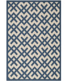 RugStudio presents Safavieh Courtyard Cy6915-268 Navy / Beige Machine Woven, Good Quality Area Rug